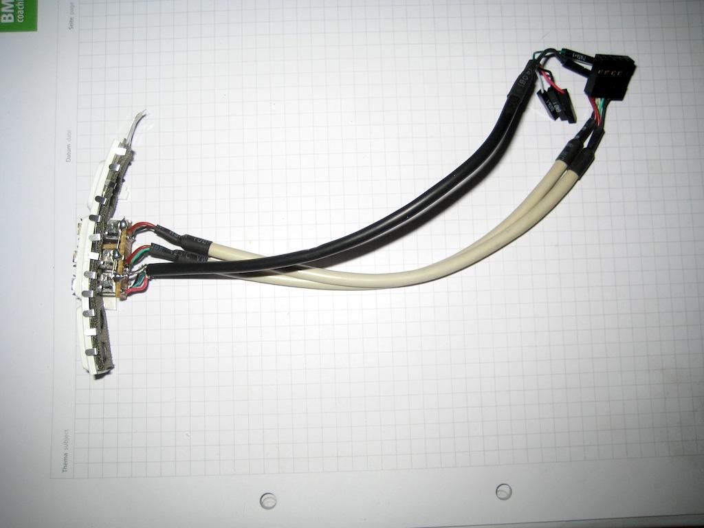 Innenausbau – elektrische Verkabelung | 53 Cent