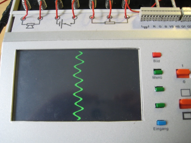 Ultraschall Entfernungsmesser Schaltung : Schaltungen mit dem vga oszilloskop cent