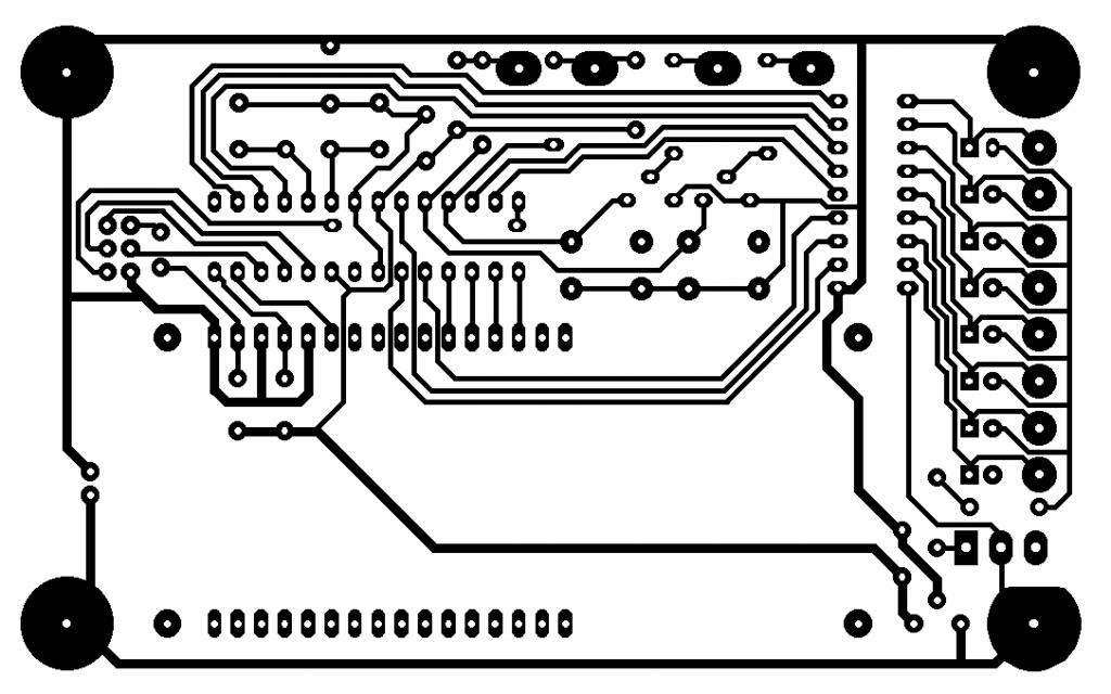 AVR-Mikrocontrollerplatine