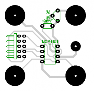Potentiometer 1 Layout