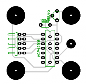 Potentiometer 2 Layout
