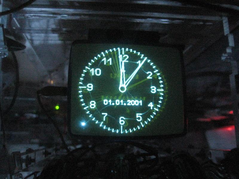 Thiem-Uhr dunkel